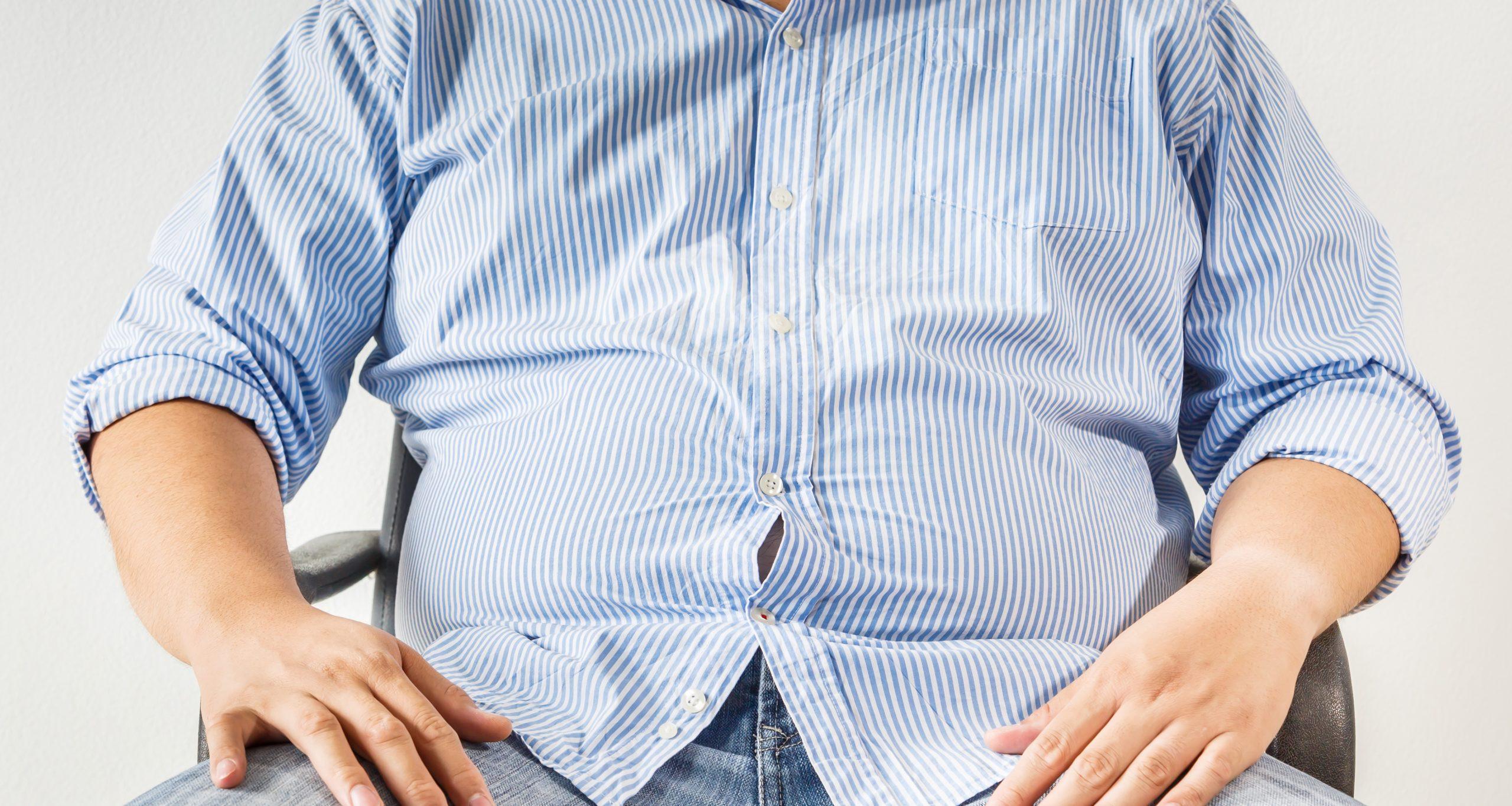 Bukfetma och lågt testosteron – ett tvåväga samband